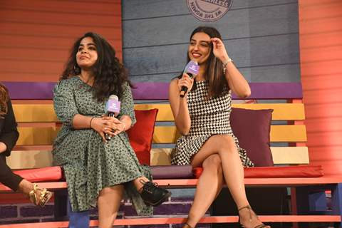 Ashwiny Iyer Tiwari and Radhika Apte at We The Women