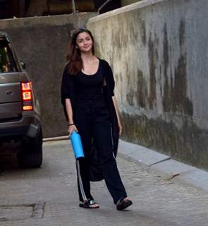Alia Bhatt snapped around the town