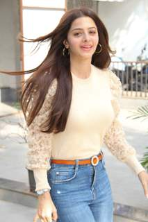 Vedhika Kumar snapped around the town