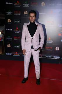 Rajkummar Rao papped at the Red Carpet of Filmfare Glamour and Style Awards 2019