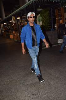 Rajkummar Rao spotted at the airport