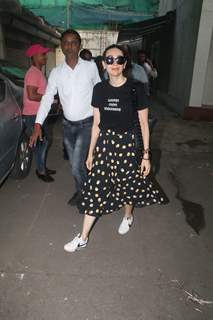 Karisma Kapoor spotted around the town