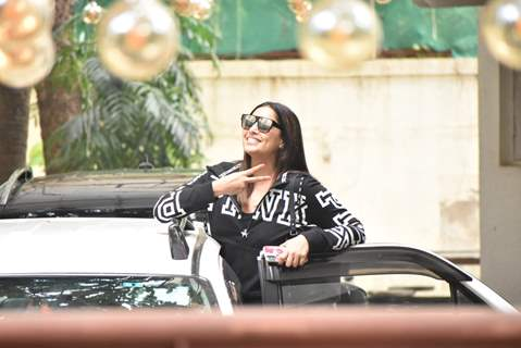 Bipasha Basu papped around the town