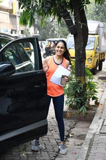 Genelia Deshmukh papped around the town