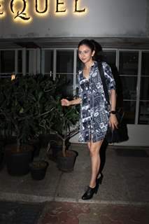 Rakul Preet Singh papped around the town