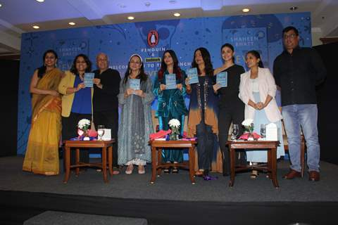 The Bhatt's at Shaheen's Book Launch