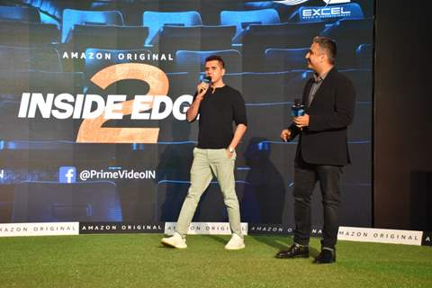 Inside Edge 2 actors papped during the press conference