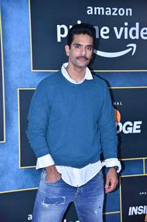 Angad Bedi attends the special screening of Inside Edge 2