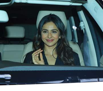Rakul Preet Singh at Pati Patni Aur Woh screening