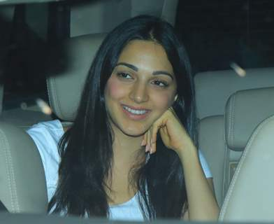 Kiara Advani at Pati Patni Aur Woh screening
