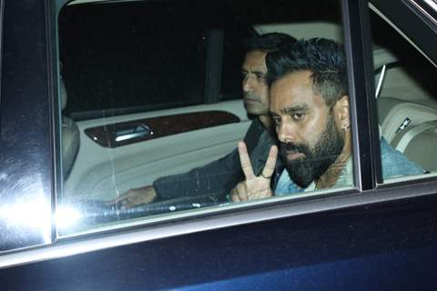 Bosco Martis at Pati Patni Aur Woh screening