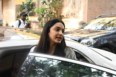 Kiara Advani snapped around the town