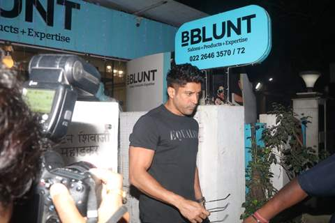 Farhan Akhtar snapped at BBlunt