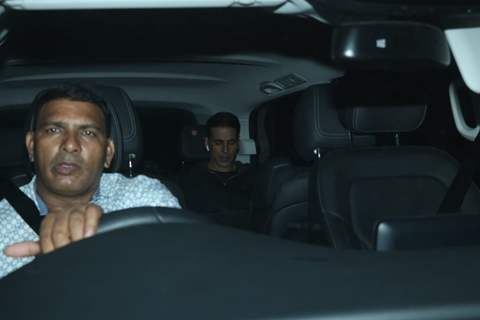 Akshay Kumar snapped around the town