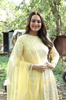 Sonakshi Sinha at the promotion of movie Dabangg 3