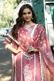 Saiee Manjrekar at the promotion of movie Dabangg 3
