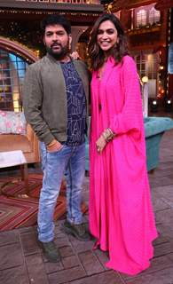 Deepika Padukone and Kapil Sharma