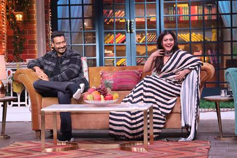 Ajay Devgn and Kajol on The Kapil Sharma Show!