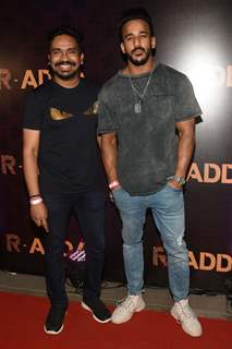 Rohit Reddy with Mushtaq Sheikh