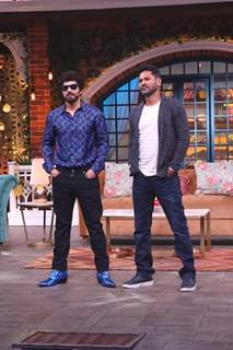 Prabhu Deva on the sets of The Kapil Sharma Show!