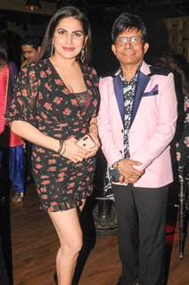 Pammi Motan with Kamaal R Khan
