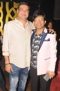 Rumi Jaffery with Kamaal R Khan
