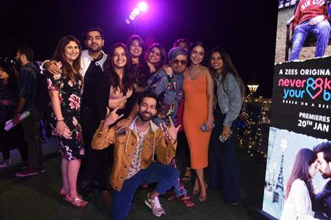 The cast of ZEE5's Never Kiss Your Best Friend!