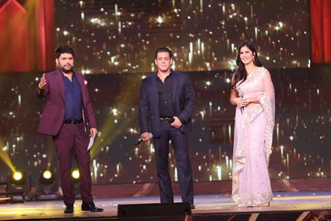 Kapil Sharma, Salman Khan and Katrina Kaif