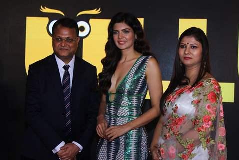Ihana Dhillon with Ullu App's CEO Vibhu Agarwal
