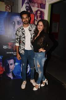 Kunal Verma and Pooja Banerjee