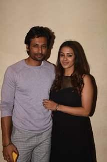 Indraneil Sengupta and Barkha Sengupta