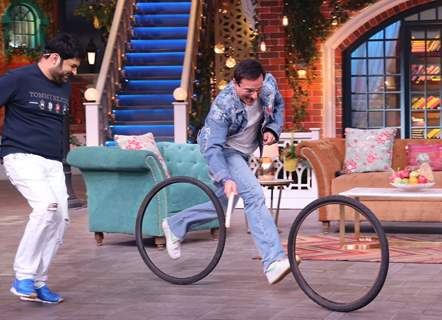 Kapil Sharma and Saif Ali Khan