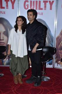 Ruchi Narain and Karan Johar