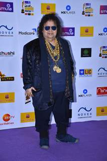 Bappi Lahiri snapped at Mirchi Awards 2020