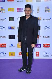 Bhushan Kumar snapped at Mirchi Awards 2020