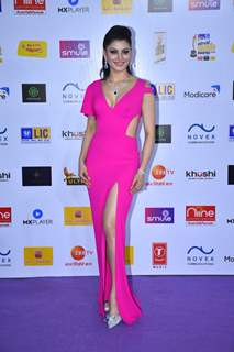 Urvashi Rautela snapped at Mirchi Awards 2020