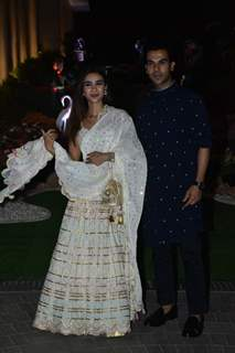 Rajkummar Rao and Patralekha at Isha Ambani Holi house Party