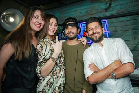 Shefali Jariwala with her friends