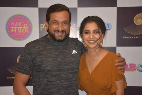 Prasad Oak and Sayali Sanjeev