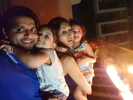 Karanvir Bohra with Family