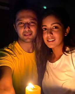 Vatsal Sheth with wife