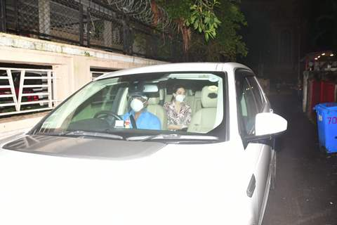 Celebrities arrive for Riddhima Kapoor Sahni's Birthday!