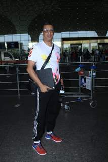 Madhur Bhandarkar snapped at airport