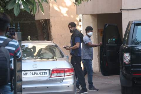 Arjun Rampal snapped around the town