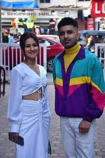 Avneet Kaur and Akull snapped at BKC, Bandra