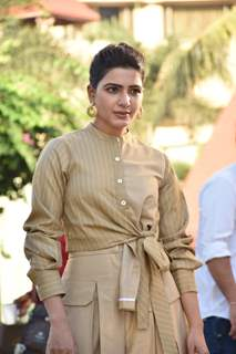 Samantha Akkineni snapped at the promotions of Family Man season 2
