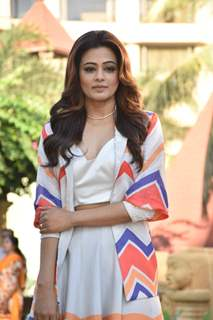 Priyamani snapped at the promotions of Family Man season 2