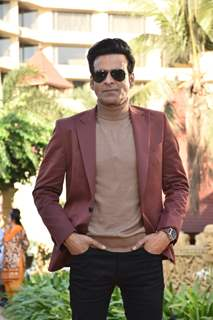Manoj Bajpayee snapped at the promotions of Family Man season 2