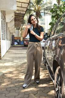 Angira Dhar snapped at super star hall andheri