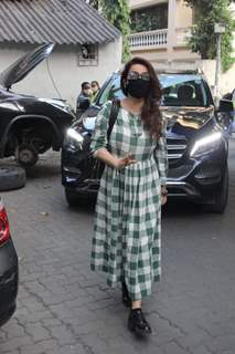 Tisca Chopra snapped in Bandra